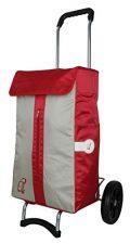 Andersen Einkaufstrolley Campus Shopper VITA 125-043 Rot/Silber