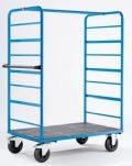 EUROKRAFT Etagenwagen Stahl, für 3 herausnehmbare Böden - Ladefläche 1175 x 800...