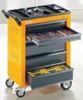 QUIPO Werkzeugwagen - 6 Schubladen mit Einzelarretierung - HxBxT 930 x 630...